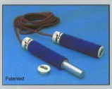 Adjustable Leather Jump Rope 2 Lbs